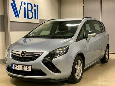 begagnad Opel Zafira Tourer 1.4 Turbo Euro 6 7-SITS 140HK S&V/DRAG