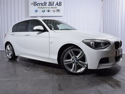 begagnad BMW 118 D 5dr M-Sport / 0.95% RÄNTA