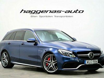 begagnad Mercedes C63S AMG AMGT / 510hk / Performance / HUD