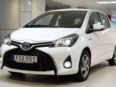 begagnad Toyota Yaris 1,5 HYBRID 5-D ACTIVE V-HJUL BAC