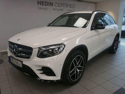 begagnad Mercedes GLC220 4-Matic Demo, AMG, Premiumpaket, Värmare, Drag