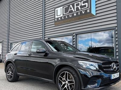 begagnad Mercedes E250 GLC Benz d 4MATIC 9G-Tronic AMG Sport 2017, SUV 368 900 kr