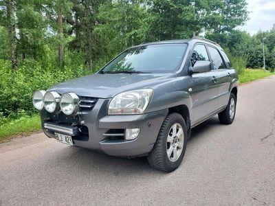 begagnad Kia Sportage 2.0 CRDi 4WD Besiktad och skatta