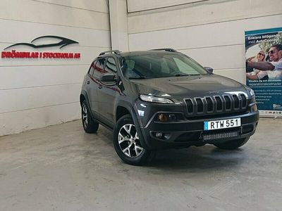 begagnad Jeep Cherokee 3.2 V6 4WD Automat Euro 6 272hk-Trail Rated