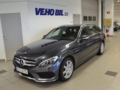 begagnad Mercedes C220 BlueTec Businesspaket Plus