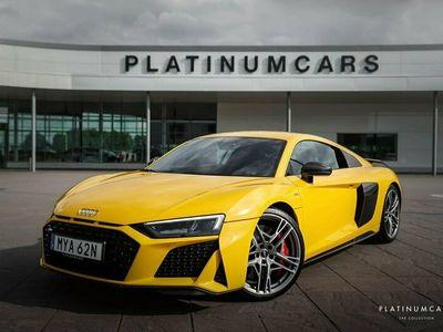 begagnad Audi R8 Coupé V10 Performance 620hk / Full Carbon / B&O