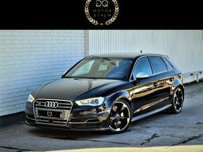 begagnad Audi S3 Sportback 2.0Tfsi Quattro Navi Pdc 300Hk Eu6 Sportsystem