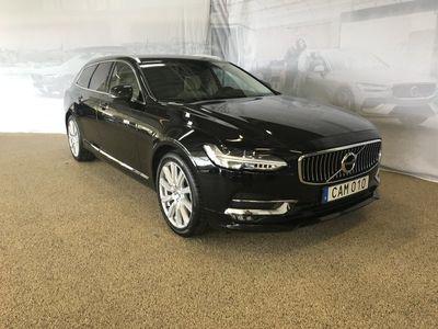 begagnad Volvo V90 D4 Inscription, Garanti 24 månader, On call, BowersWilkins högtalare, Navigation, Parkeringssensor fram/bak, Smartphone Integration