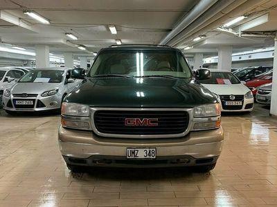 begagnad GMC Yukon XL 1500 5.3 V8 4WD Hydra-Matic 8 sits 2001, SUV Pris 79 000 kr
