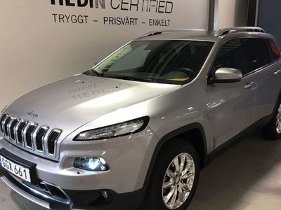 begagnad Jeep Cherokee 2.2d 200 HK LIMITED AUTOMAT