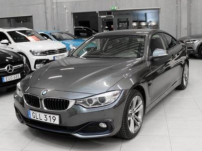begagnad BMW 420 d xDrive Coupé Sport line 2014, Sportkupé 229 900 kr