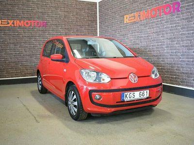 begagnad VW up! 5-dörrar Ny Besiktad