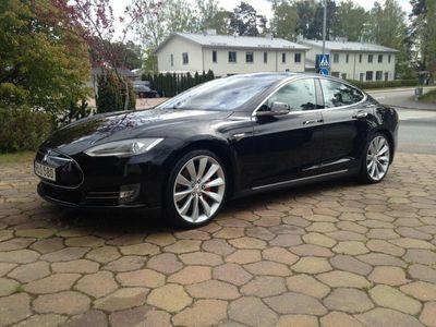 begagnad Tesla Model S P85D Ludicrous+ Svensksåld