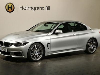 begagnad BMW 420 i Cabrio M-Sport / Navi / Parking / Hi -19