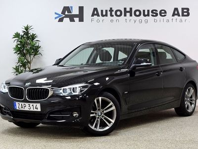 begagnad BMW 318 Gran Turismo d Sport Line Connected GPS Drag Nyservad