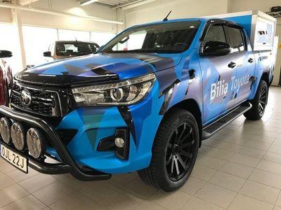 begagnad Toyota HiLux 2.4 Ultimate D-Cab Hundkåpa Auto