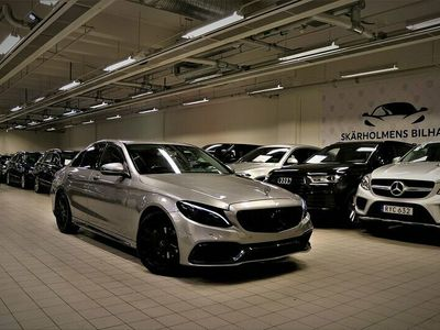 begagnad Mercedes C63S AMG C 220D 220HK STEG 2OPTIK SV-SÅLD