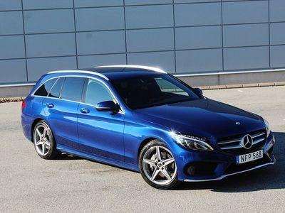 begagnad Mercedes 220 C-KlassAMG 9G-Tronic Euro 6 170hk 1700-MIL Sv-såld