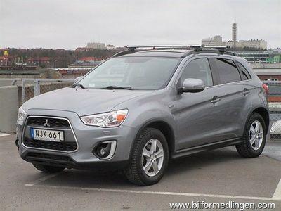 begagnad Mitsubishi ASX 1.6D 2WD Navi Panorama Skinn