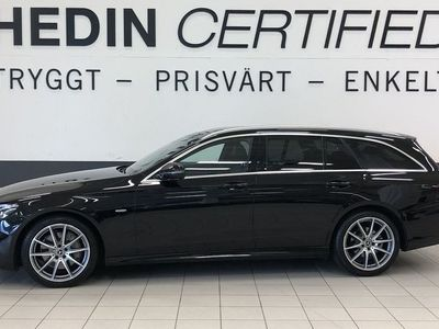 begagnad Mercedes E220 - Benz(194hk) 4MATIC / AMG LINE SPORTSTYLE / VÄRMARE