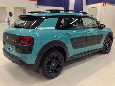 begagnad Citroën C4 Cactus Blue HDI 100 Happy Edition