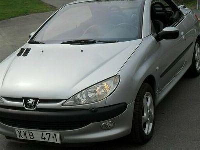 begagnad Peugeot 206 CC 1.6 109hk (837:-/mån)