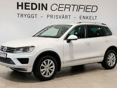 begagnad VW Touareg 3.0 V6 TDI SCR 4Motion AUT, 204hk, 2017