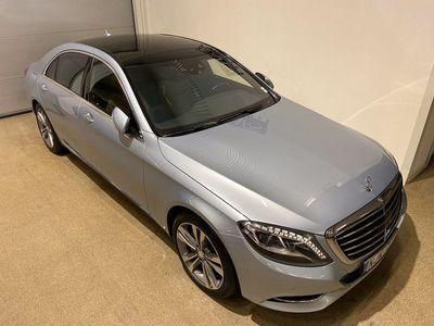 begagnad Mercedes S400 HYBRID L / 333hk / Skärmar Bak!