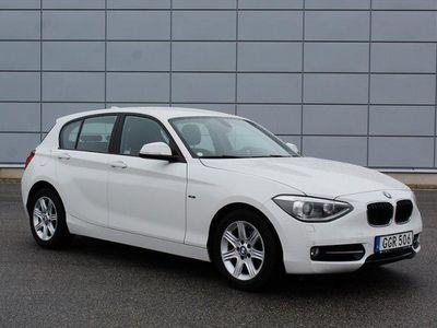 gebraucht BMW 118 d Automat Sport Line 143hk 9000MIL TOPPSKICK