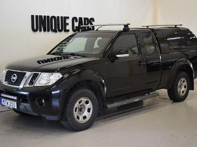 begagnad Nissan Navara 2.5 dCi 4x4 Kåpa 2015, Transportbil 144 900 kr