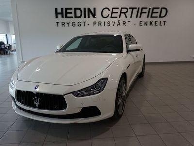 begagnad Maserati Ghibli Q4 3.0 V6 Q4 Automatisk. 409hk