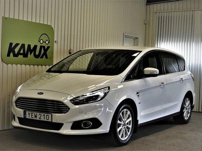brugt Ford S-MAX 2.0 TDCi AWD (180hk) 7-sitsig