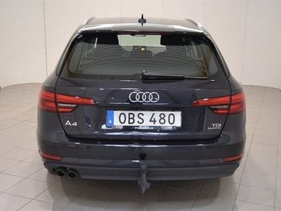 begagnad Audi A4 B9 AVANT 2.0 TDI 190 HK Q STR