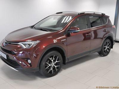 begagnad Toyota RAV4 Hybrid E-FOUR 2.5 AWD CVT (Dragkrok)
