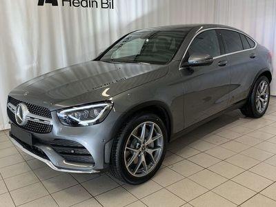 begagnad Mercedes GLC220 D 4MATIC COUPÉ/AMG/DRAG