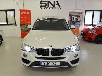 gebraucht BMW X4 xDrive20d Steptronic Euro 6 190hk DRAG 490Mil