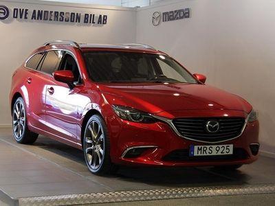 begagnad Mazda 6 6 Wagon 2.2 SKYACTIV-D AWD Automat Optimum Euro175hk