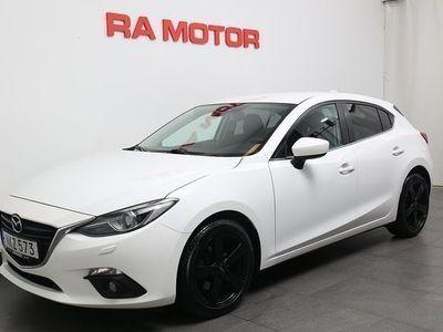 begagnad Mazda 3 2,2 SKYACTIV-D 150HK Sport Motorv/Bluetooth