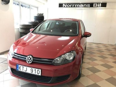 begagnad VW Golf 1.6TDI BlueMotion/Nykam/105hk -11