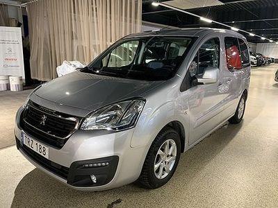 begagnad Peugeot Partner Tepee 1.6 BlueHDi 100hk AUT