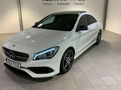 begagnad Mercedes CLA220 D/AMG/PANORAMA/LED