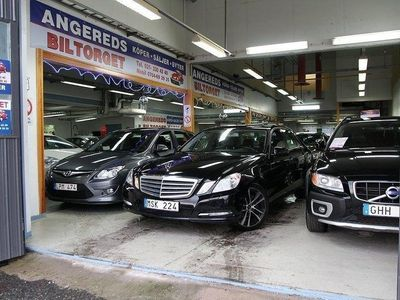 begagnad Mercedes E200 NGT AUTOMAT BlueEFFICIENC