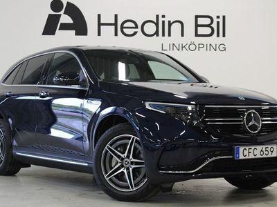 begagnad Mercedes EQC400 - Benz400 4 - Matic AMG - Line Dragkrok Burmester adaptiv farthållare