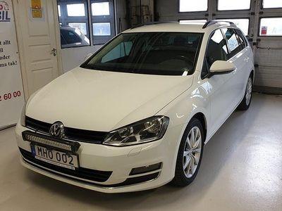 begagnad VW Golf Sportscombi 2.0 TDI BlueMotion DSG Highline Plus Euro 6 150hk
