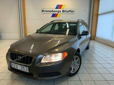 begagnad Volvo V70 2.0 Flexifuel Kinetic 145 Hk Manuell