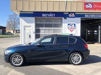 begagnad BMW 118 d 5-door Steptronic 143hk -15