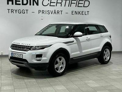 begagnad Land Rover Range Rover evoque 5 - dörrar 2.2 TD4 4WD Aut / Pure, 150hk, 2014