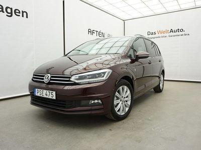 begagnad VW Touran 1.4TSI 150hk 7-sits Drag P-värmare