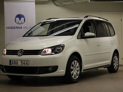 begagnad VW Touran 1.6 TDI 7-SITS DRAG MOTORVÄ -14