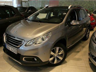 begagnad Peugeot 2008 1.2 VTi 82hk ALLURE GLASTAK NAVI